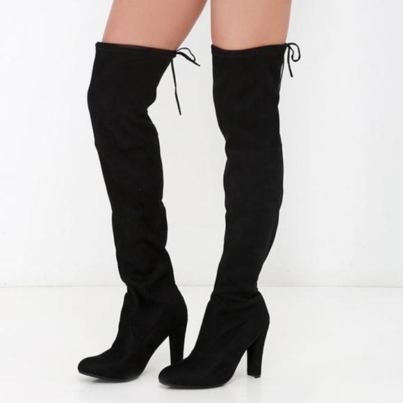 Gorgeous Thigh High Boots Steve Madden